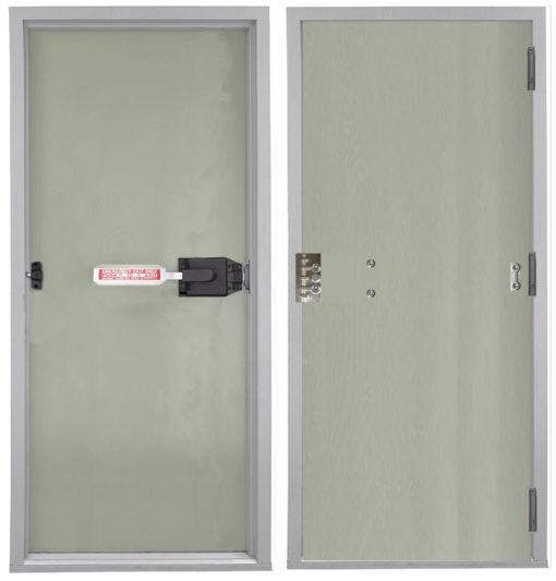 Securitech SERPENT Single Door Exterior Interior