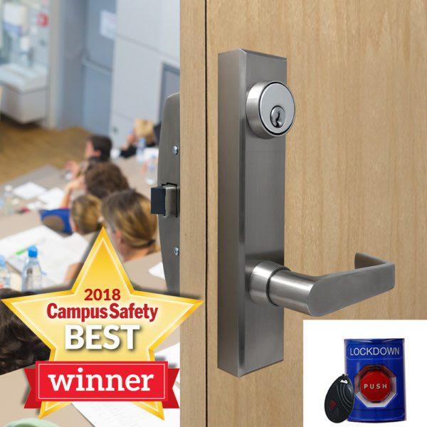 classroom intruder lock secure students during lockdown