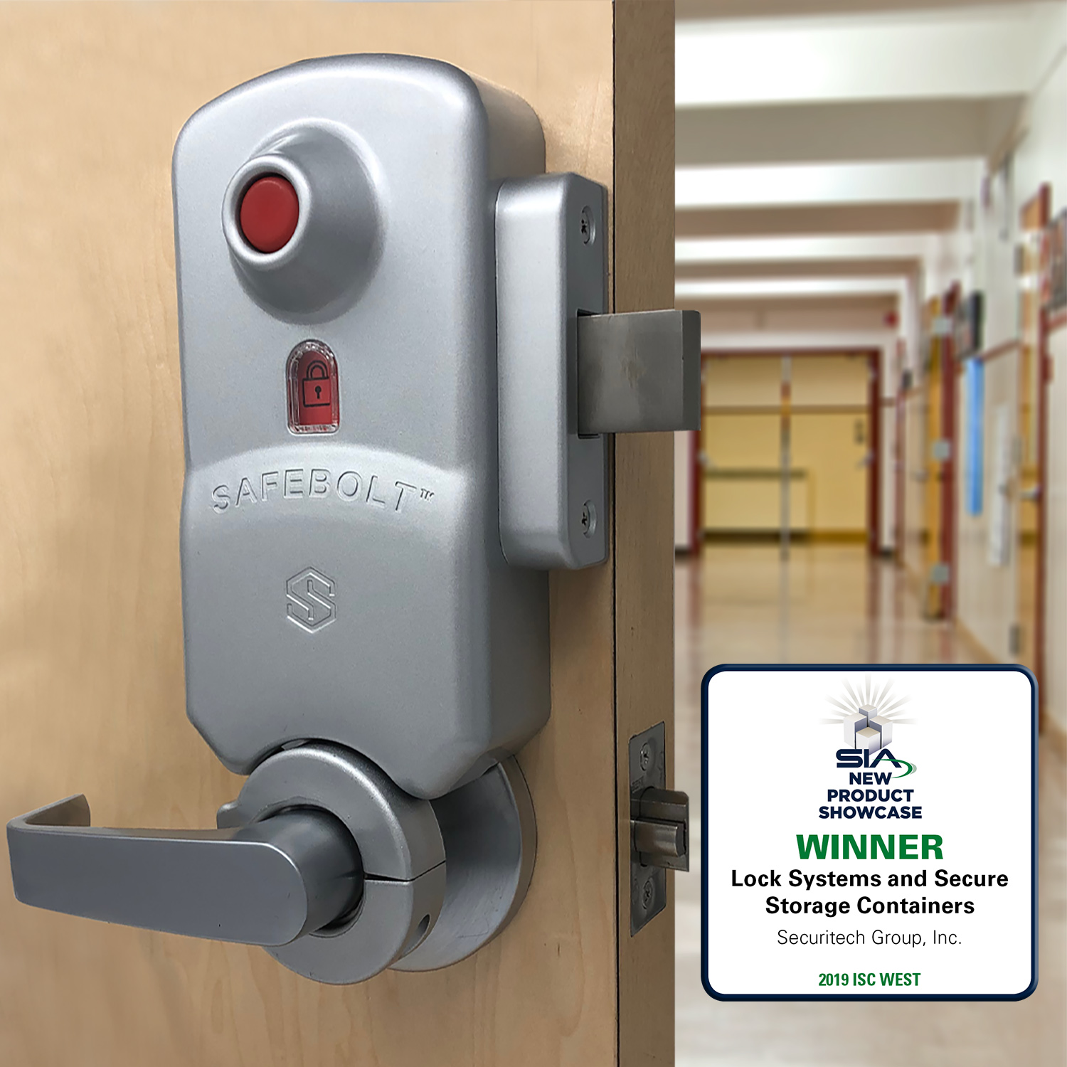 Safebolt: Code-Compliant Barricade Lock - Securitech