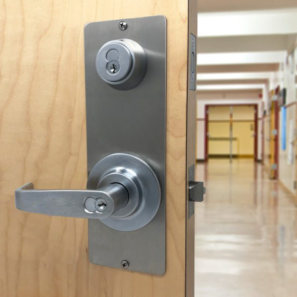 quickly lockdown classroom with intruder protection lock