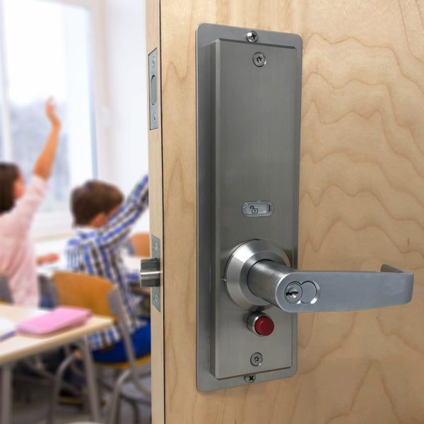 active shooter door locks for schools and universities