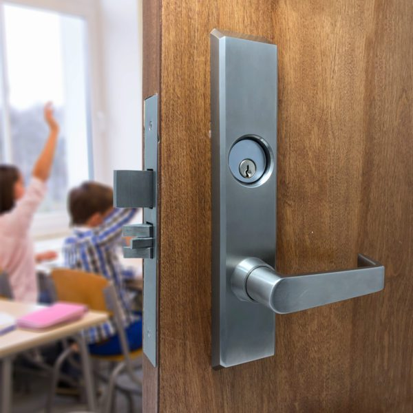 classroom intruder lock secure students during lockdown