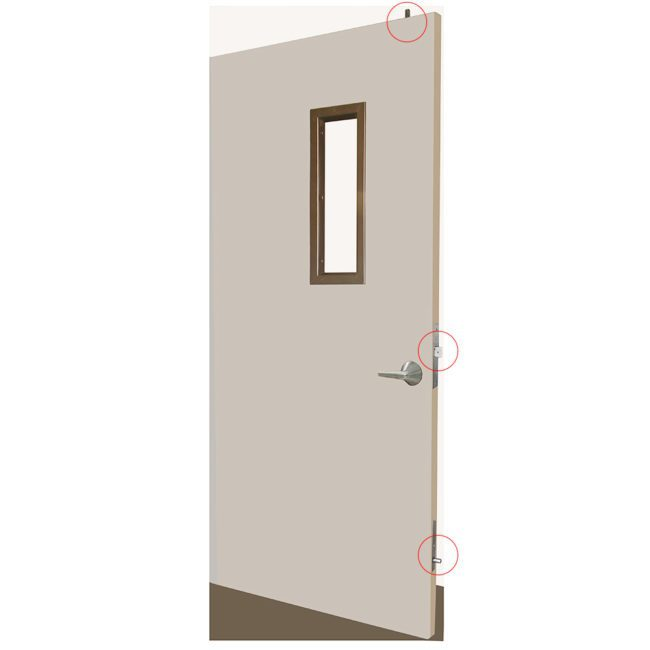 Time out room/Seclusion room lock